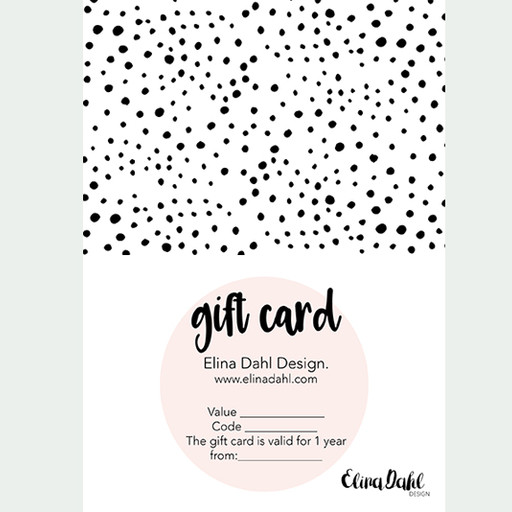 Gift card. 1500:-