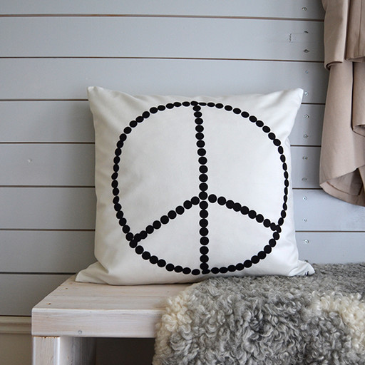 Pillowcase, peace.