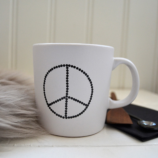 Mugg, peace. 2-pack