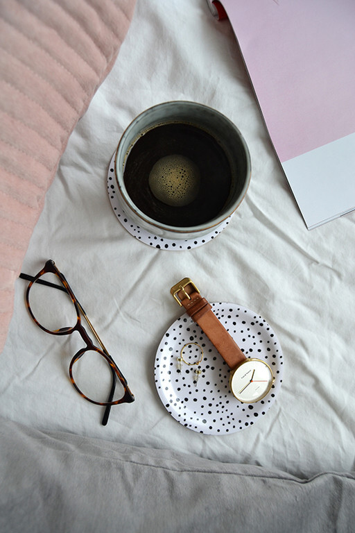 Mini tray / Coaster. Elina Dahl Design, made in Sweden.