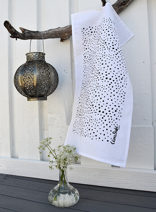 Tea towel, Swedish design by Elina Dahl.